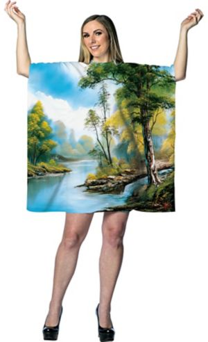 Adult Bob Ross Painting Costume