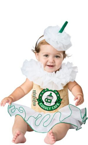 Baby Cappuccino Cutie Coffee Costume