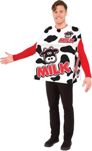 Adult Milk Box Costume