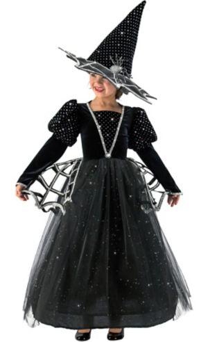 Girls Diamond Witch Costume