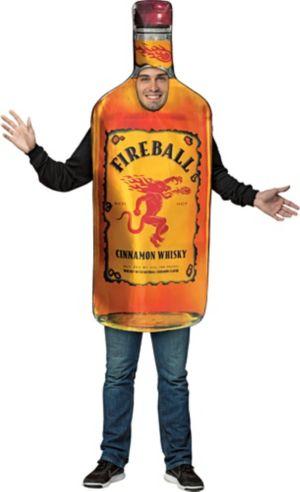 Adult Bottle of Fireball Costume