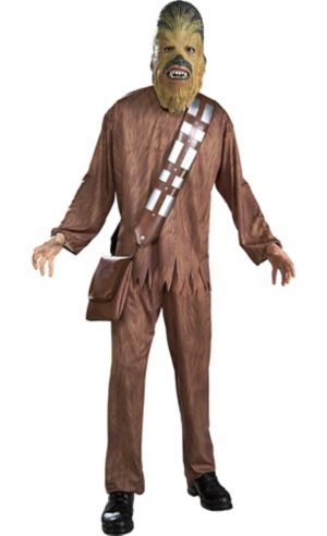 adult chewbacca costume star wars party city