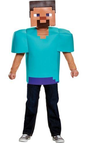 Boys Steve Costume - Minecraft