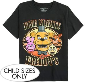Child Five Nights at Freddy's T-Shirt