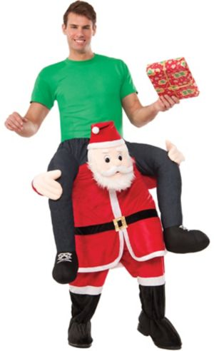 Adult Santa Ride-On Costume