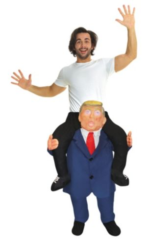 Adult Combover Presidential Ride-On Costume