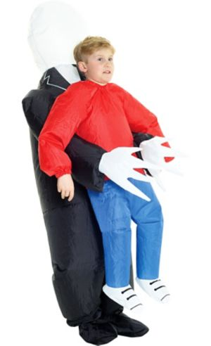 Child Inflatable Slenderman Pick-Me-Up Costume