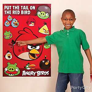 Angry Birds Pin It Game Idea
