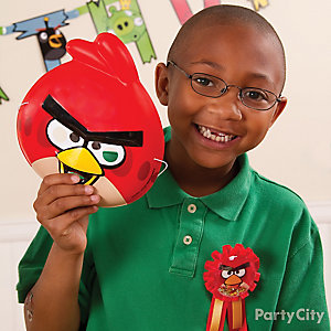 Angry Birds Birthday Outfit Idea