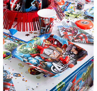 Avengers Place Setting Idea