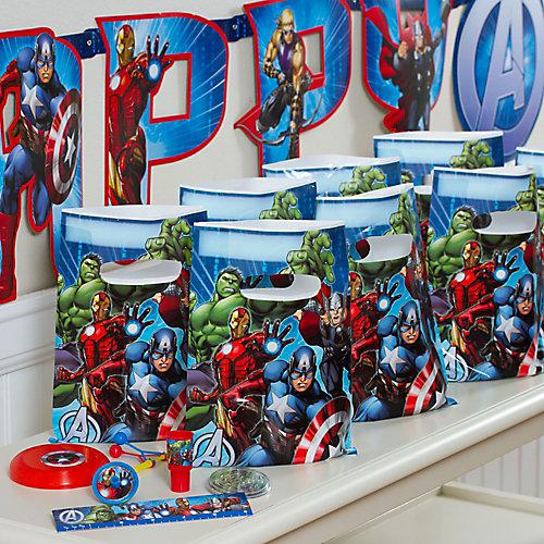 Avengers Favor Pack for 8 Idea