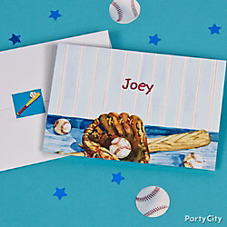 Baseball Thank You Note Idea