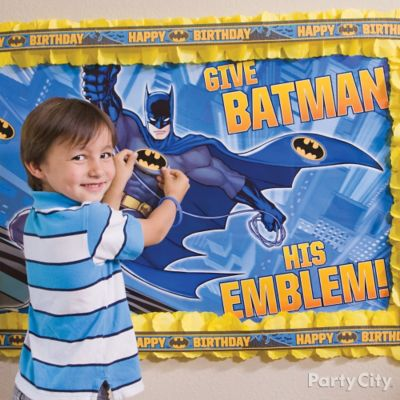 Batman Pin-It Game Idea