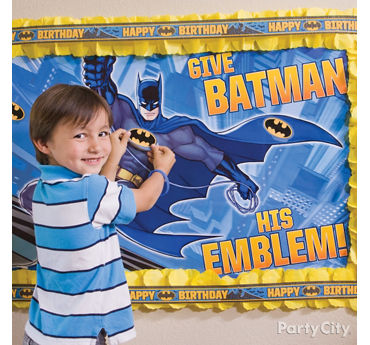 Batman Pin It Game Idea
