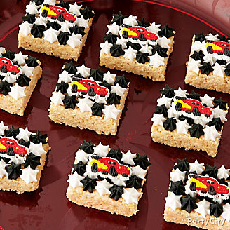 Cars Crispy Rice Treats How To