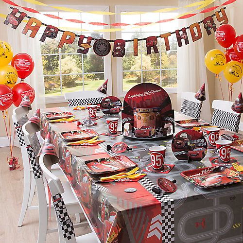 Cars Party Table Idea