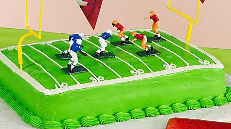 Football Cake Idea