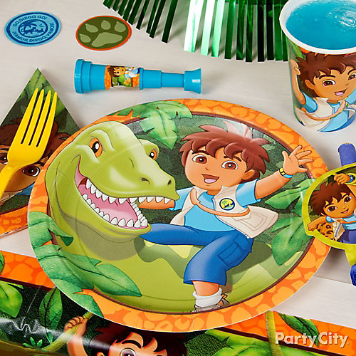 Go Diego, Go! Place Setting Idea