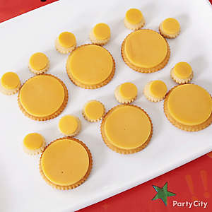 Mickey Mouse Cheese & Crackers How To