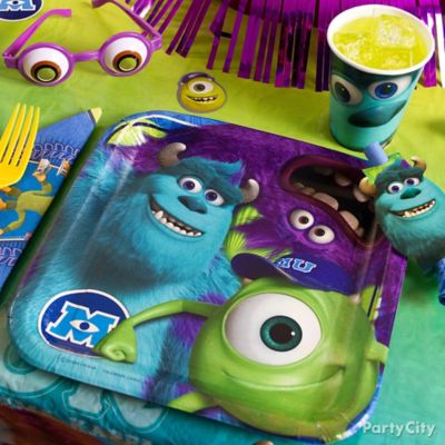 Monsters University Place Setting Idea