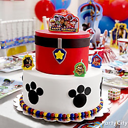 PAW Patrol Fondant Cake How To