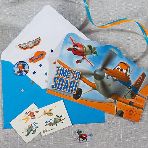 Planes Invite with Surprise Idea