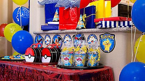 Pokemon Favor Table Idea