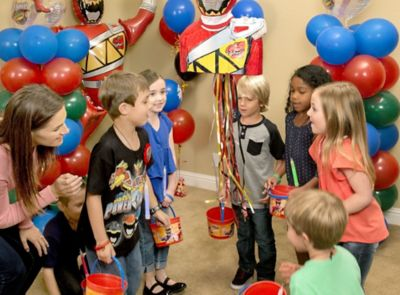 Power Rangers Party Ideas