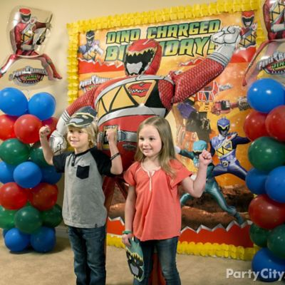 Power Rangers Photo Booth Idea