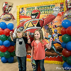 Power Rangers Photo Booth Idea