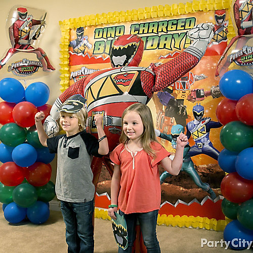 Power Rangers Photo Booth Idea Game amp Activity Ideas