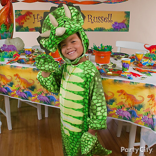 Prehistoric Dinosaur Birthday Costume Idea