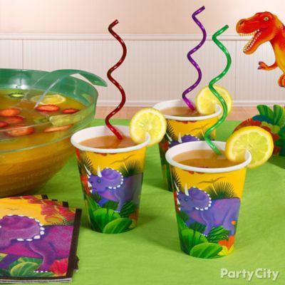 Prehistoric Dinosaur Drink Idea