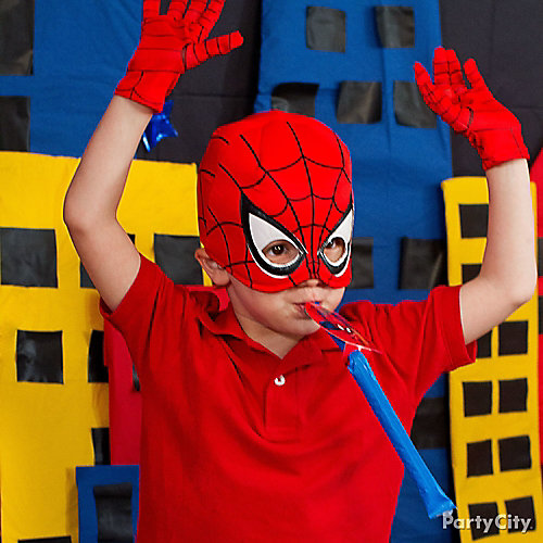 Spider-Man Birthday Outfit Idea