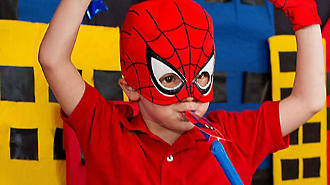 Spider Man Birthday Outfit Idea
