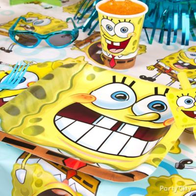 SpongeBob Place Setting Idea