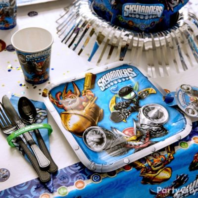 Skylanders Place Setting Idea