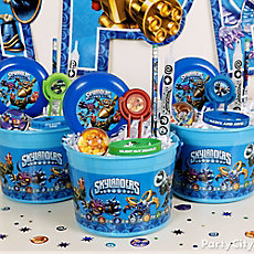Skylanders Favor Bucket Idea