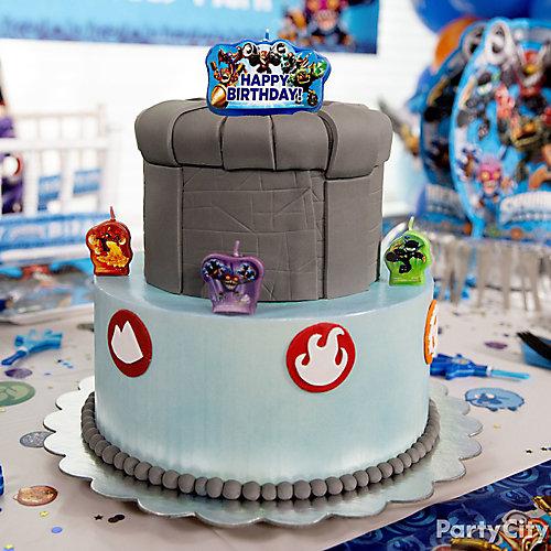 Skylanders Cake How To