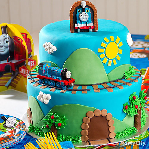 Thomas Cake How To