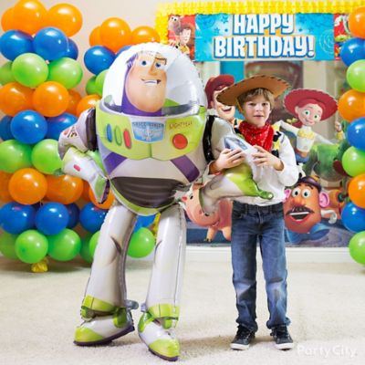 Toy Story Gliding Balloon Idea