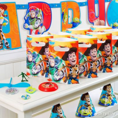 Toy Story Favor Pack for 8 Idea