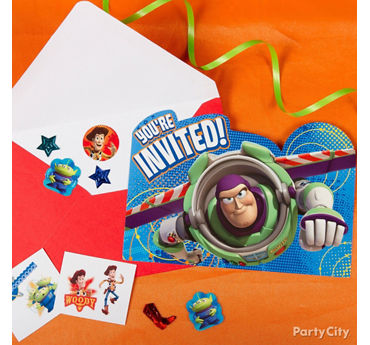 Toy Story Invite with Surprise Idea