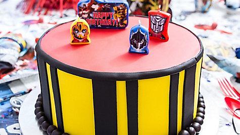 Transformers Fondant Cake How To