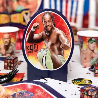 WWE Party Table Idea