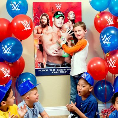 WWE PinIt Game Idea Game Activity Ideas WWE Party Ideas