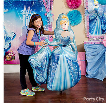 Cinderella Gliding Balloon Idea