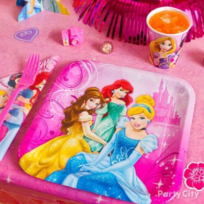 Disney Princess Place Setting idea