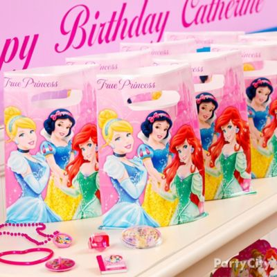 Disney Princess Favor Pack for 8 Idea