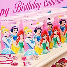 Disney Princess Favor Pack for 8 Idea